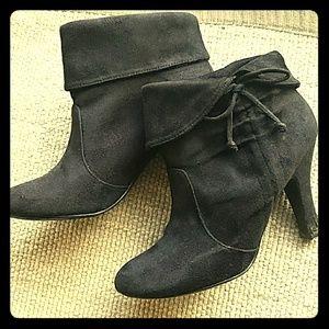 Previously Loved! 4in heel, Black Booties!!!😍